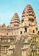 1 AK Kambodscha Cambodia * Tempelanlage In Kambodscha * - Cambodja