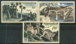 Madagascar (1954) PA N 75 à 77 * (charniere) - Non Classés