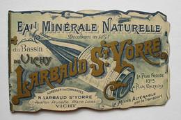 Petit Calendrier 1899 - Larbaud St Yorre - Vichy - Calendari