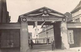 Steyr (OÖ) Werkseingang - FOTOKARTE - Jahr 1928 - Steyr