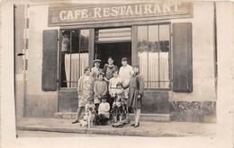 CAFE-RESTAURANT-CARTE-PHOTO-A SITUER - Caffé