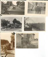 1940: 6 Photos Diverses - Guerre, Militaire