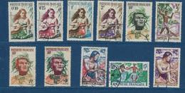 """Polynésie YT 1 à 11 """" Série Courante """" 1958-60 Oblitéré - Polinesia Francese"""