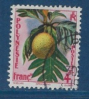 "Polynésie YT 13 "" Flore "" 1958 Oblitéré - Polinesia Francese"