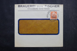 FRANCE / ALLEMAGNE - Enveloppe Commerciale De Strasbourg En 1941 - L 72723 - Alsace Lorraine