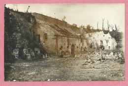 02 - CRANDELAIN Et MALVAL - Carte Photo Allemande - Ruines - Guerre 14/18 - 2 Scans - Altri Comuni