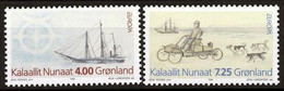 Greenland, 1994, Europa Cept, Discoveries, MNH, Michel 247-248 - Unclassified