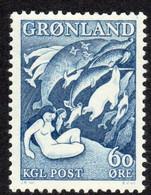 Greenland, 1961, Sagas, Myths, MNH, Michel 39b - Non Classés