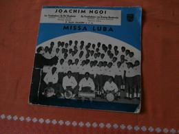 EP Missa Luba Par Joachim Ngoi Et Guido Haazen (1958) Congo Kamina Troubadours - Religion & Gospel
