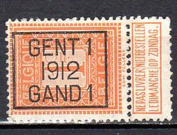 Belgique Préoblitéré N° 108 Gent 1 1912 Gand 1 Lot 101 - Tipo 1912-14 (Leoni)