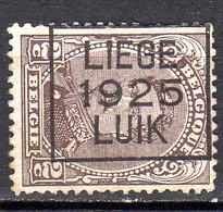 Belgique Préoblitéré N° 136 Liège 1925 Luik Lot 106 - Tipo 1912-14 (Leoni)