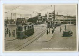 XX003174/ Constantinople Konstantinopel Straßenbahn Place De Taxim Türkei Ca1935 - Turkey
