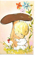 Geboortekaartje Hilde 23.10.75 Ekeren  Materniteit  Mededeling Prentje Image Faire Part De Naissance Ndl-talig - Nacimiento & Bautizo