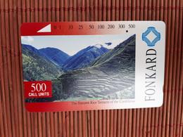 Philipins Tamura Phoencard 500 Units Used  Rare - Filippine