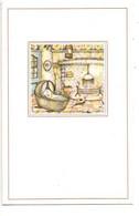 Anton Pieck Geboortekaartje Sarah  13.04.81 Wilrijk   Mededeling Prentje Image Faire Part De Naissance Ndl-talig - Nacimiento & Bautizo