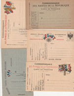 Lot De 14 Cartes Militaires Neuves - Oorlog 1914-18