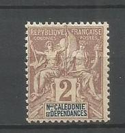 Timbre Colonie Francaises Nlle Calédonie  Neuf ** N 42 - Ungebraucht