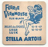 Bierdeckel, Stella Artois Belgien - Sotto-boccale