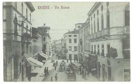 2 Cpa Italie - Thiene - Panorama Lato Nord / Via Nuova - Andere