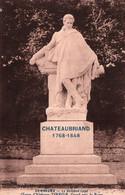 3211 Carte Postale Statue CHATEAUBRIAND  1768 1848 COMBOURG Œuvre Alphonse TERROIR  Grand Prix  Rome  35 Ille Et Vilaine - Combourg