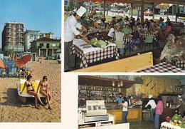 LIDO DI JESOLO - VENEZIA - HOTEL COSMOPOLITAN - 3 VEDUTE - VIA BAFILE 361 - SPIAGGIA E RISTORANTE - Venezia (Venice)
