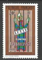 """Polynésie YT 92 """" Lutte Contre L'alcoolisme """" 1972 Neuf** - Unused Stamps"""