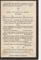 Souvenir Mortuaire VERHEYDEN Dionysius (1873-1899) Geboren En Overleden Te ONZE-LIEVE-VROUW-LOMBEEK - Andachtsbilder