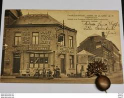 Yvoir-sur-Meuse, Hôtel De La Gare. Rare !!!!!! - Yvoir