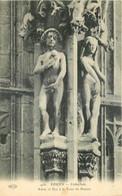 76 - ROUEN - ADAM ET EVE A LA TOUR DE BEURRE - Rouen