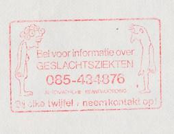 Meter Cover Netherlands 1983 Venereal Diseases - Sexual Contact - Arnhem - Sin Clasificación