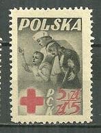 POLAND MNH ** 503 CROIX ROUGE Infirmière Santé Médecine - Unused Stamps
