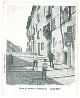 2 Cpa Italie - Bassano ( 1 Cp Recoupée ) - Andere