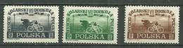 POLAND MNH ** 515-517 Tour Cycliste De Pologne Cyclisme Vélo - Unused Stamps