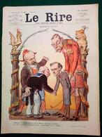 1914 Journal LE RIRE - LEANDRE - WILLETTE - POT DE CHAMBRE - VALLÉE - LABORDE - Altri