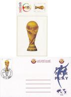 2002 QATAR FIFA WORLD CUP Post Card Unused - Qatar