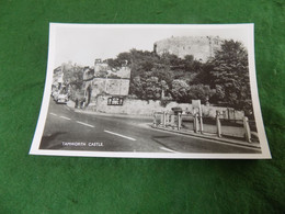 VINTAGE UK STAFFORDSHIRE: TAMWORTH Castle + Road Panorama B&w - Other