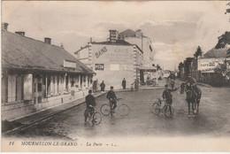 N°6138 R -cpa Mourmelon Le Grand -la Poste- - Postal Services