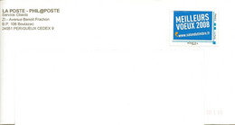 "MTAM ""MEILLEURS VOEUX 2008 "" - WWW.SALON DU TIMBRE.FR- PHILAPOSTE - Personalized Stamps (MonTimbraMoi)"