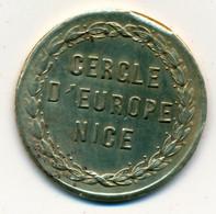 JETON De CASINO // NICE // CERCLE D'EUROPE // 2 Francs - Casino