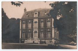CARTE PHOTO ROBERT FENET ABBEVILLE (80) : CHATEAU CAUBERT ? AUTRE ? HOTEL PARTICULIER ? MAISON BOURGEOISE ? -z2 SCANS Z- - Abbeville