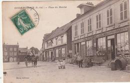 76 Goderville. Place Du Marché. Quincaillerie Lamisse - Goderville