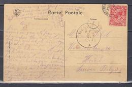 Postkaart Van Stanford Naar Heverlee (Belgie) Anvers Red Star Line Le Steamer Finland - Cartas