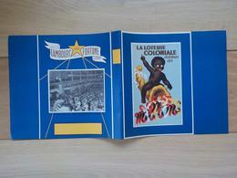 Ancien Protège-cahier Neuf Publicitaire Loterie Nationale Enfant Africain Palais Beaux-Arts Bruxelles - Schutzumschläge