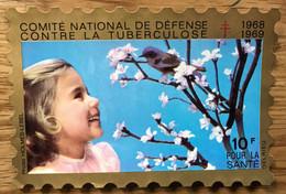 VIGNETTE TUBERCULOSE 1968 GRAND FORMAT 10F - MNH - LUXE - Tegen Tuberculose