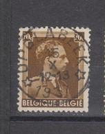 COB 427 Oblitération Centrale Relais étoile Sterstempel OPGLABEEK - 1936-1957 Open Collar