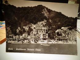 Cartolina Sirolo Prov Ancona Stabilimento Peppe 1969 Spiaggia - Ancona