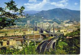 CPSM- GENOVA -Le Viaduc - Genova