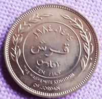 JORDANIË : 10 FILS 1984 AH 1404  KM 37 Br. UNC - Jordan