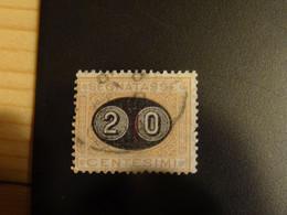 ITALIE   1890-91 TAXE Avec Surcharge - Impuestos
