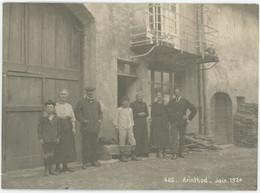 Groupe à Arinthod (Jura). 1924. - Plaatsen